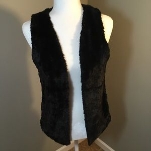 Arizona Jean Company Faux Fur Vest Jacket